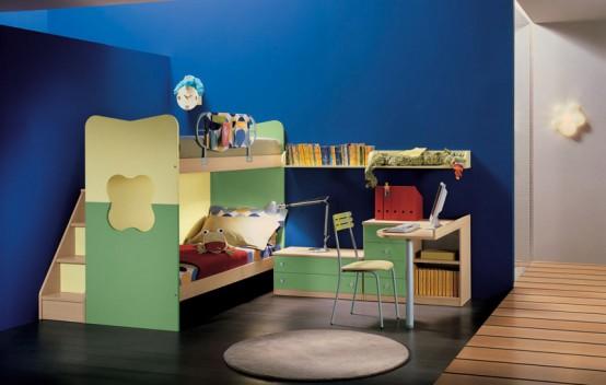 家装设计效果图 儿童少年房 五