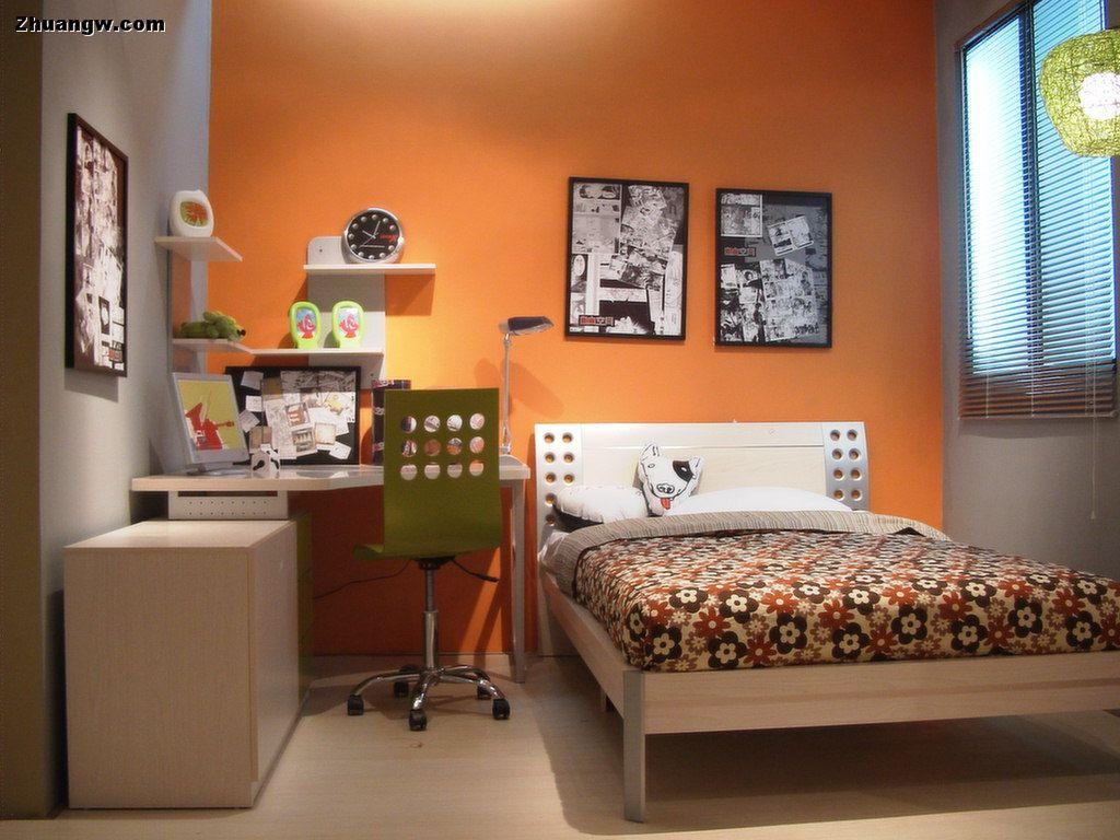 家装设计效果图 儿童少年房 二